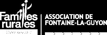 Logo Familles Rurales FONTAINE-LA-GUYON blanc